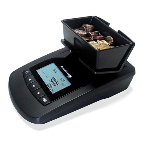 ACCUBANK MS10 TILL COUNTER/MONEY SCALE