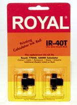 ROYAL 013110 TC100 2PK IR40T PUR/RED ROLLER