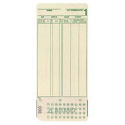 AMANO MJR-7000  (0-99) BX/1000 EMPLOYEE CARDS