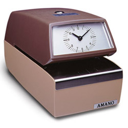 AMANO 4746/3606 AUTO TIME AND DATE STAMP