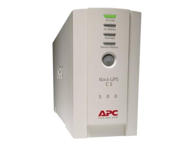 APC BK500 6 OUTLET BATTERY BACK-UPS CS