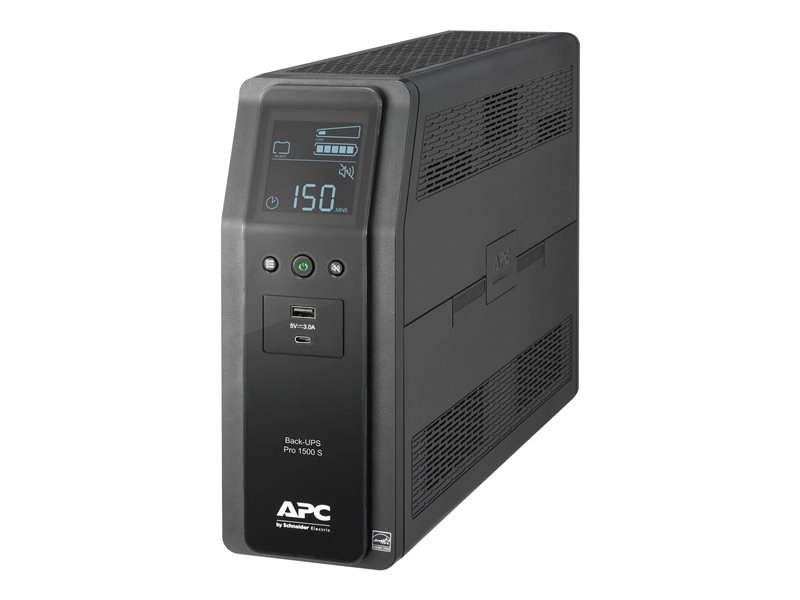 APC BR1500MS 10 OUTLET BATTERY BACK- UPS RS