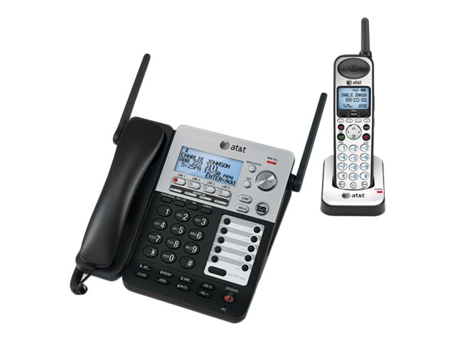 AT&T SYNJ SB67138 BLACK DECT 4-LINE EXPAND/TAD