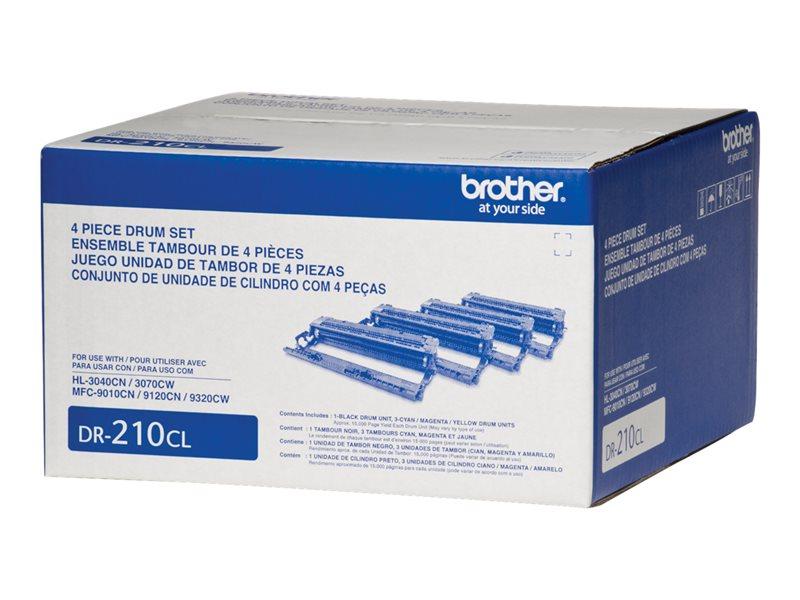BROTHER HL-3040CN DR210CL DRUM UNIT SET, 15k yield
