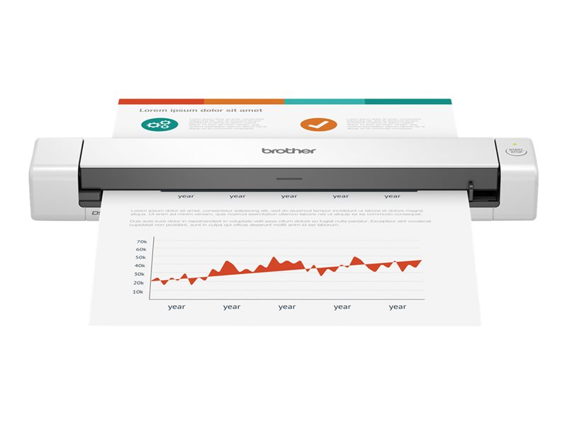 BROTHER DSMOBILE 640 COLOR PAGE SCANNER