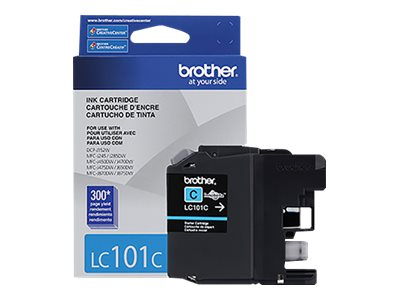 BROTHER MFC-J285DW SD YLD CYAN INK, 300 yield
