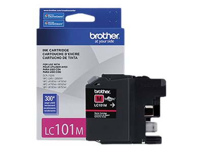 BROTHER MFC-J285DW SD YLD MAGENTA INK, 300 yield