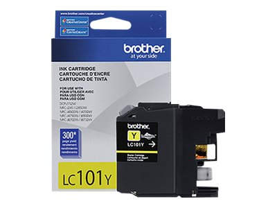 BROTHER MFC-J285DW SD YLD YELLOW INK, 300 yield