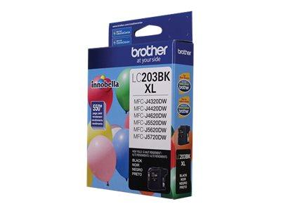 BROTHER MFC-J4320DW HI YLD BLACK INK, 550 yield
