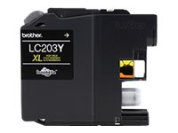 BROTHER MFC-J4320DW HI YLD YELLOW INK, 550 yield