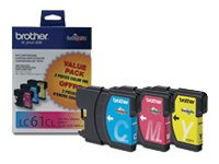 BROTHER MFC-6490CW SD THREE COLOR MULTIPACK, 325 EA yield