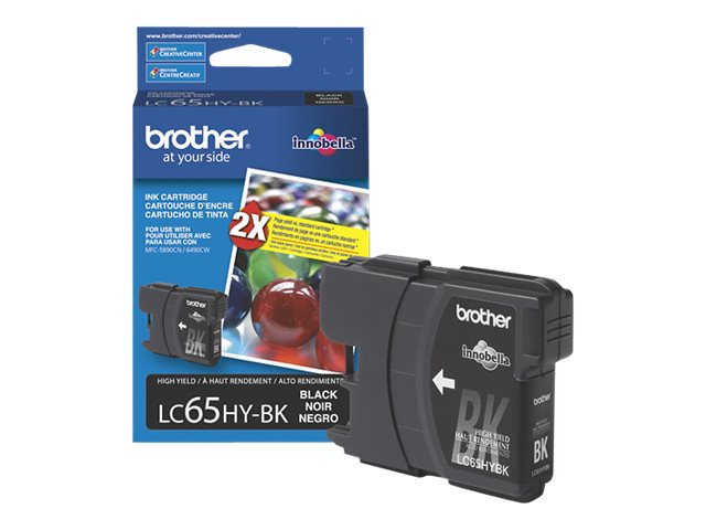 BROTHER MFC-6490CW HI YLD BLACK INK, 900 yield