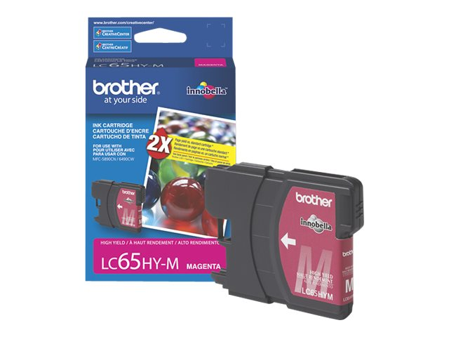 BROTHER MFC-6490CW HI YLD MAGENTA INK, 750 yield