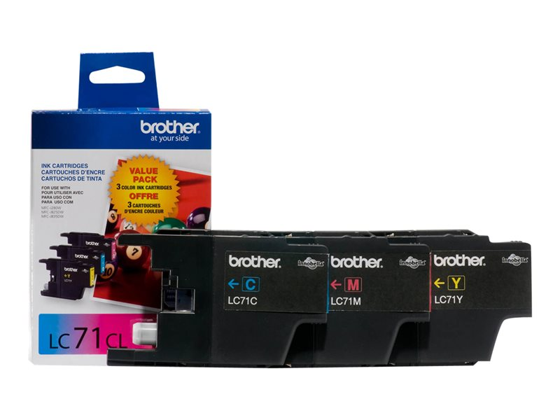 BROTHER MFC-J280W SD THREE COLOR MULTIPACK, 300EA yield