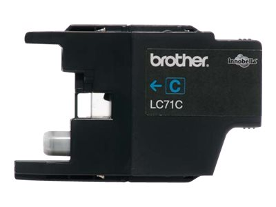 BROTHER MFC-J280W SD YLD CYAN INK, 300 yield