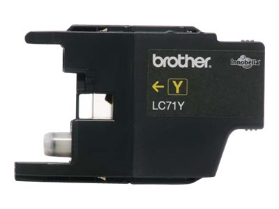 BROTHER MFC-J280W SD YLD YELLOW INK, 300 yield