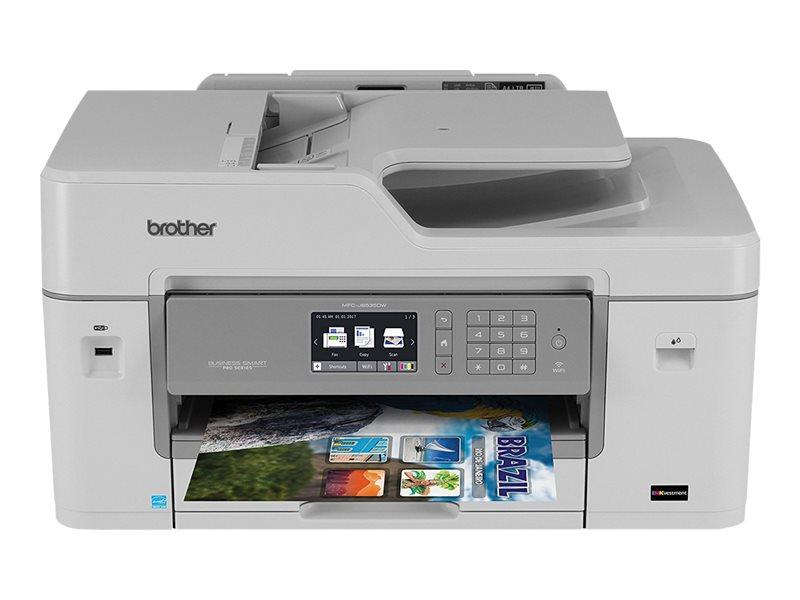 BROTHER MFCJ6535DW COLOR INK FX,CO,PT,SC,WIFI,DUP