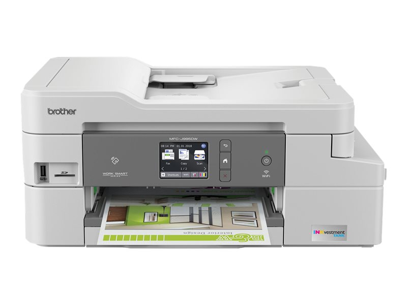 BROTHER MFCJ995DWXL CLR INK FX,CO,PT,SC,WIFI,DUP