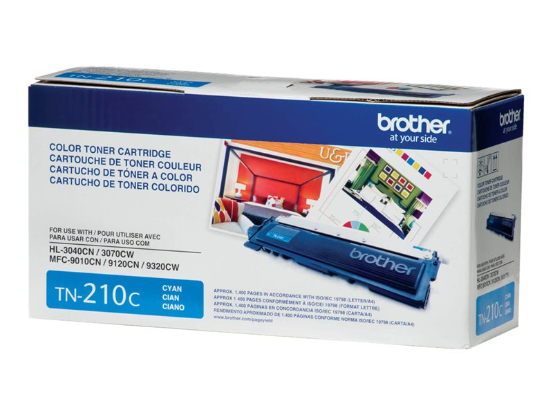 BROTHER HL-3040CN SD YLD CYAN TONER, 1.4k yield