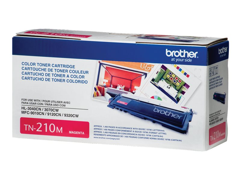 BROTHER HL-3040CN SD YLD MAGENTA TONER, 1.4k yield