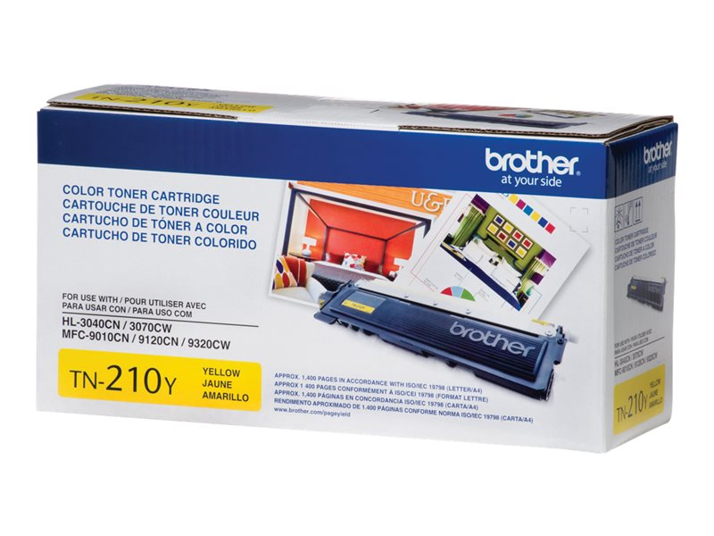BROTHER HL-3040CN SD YLD YELLOW TONER, 1.4k yield