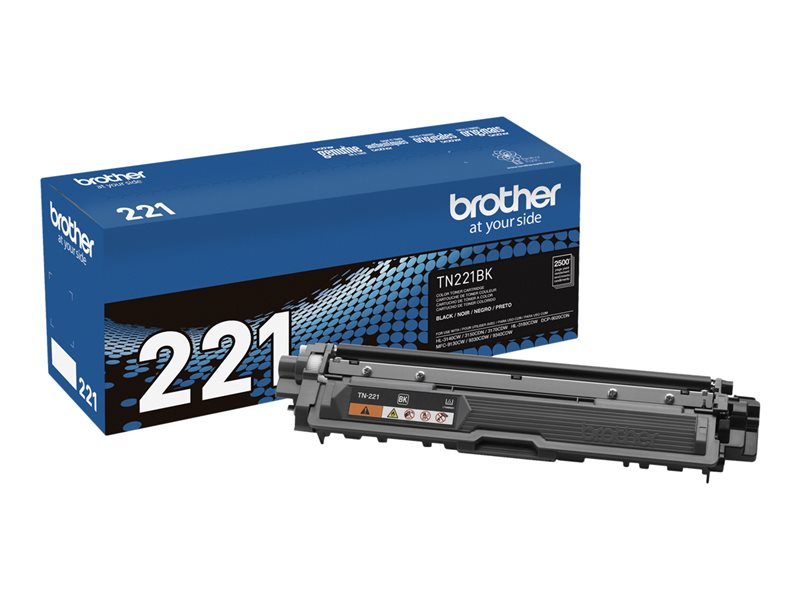 BROTHER HL-3140CW SD YLD BLACK TONER, 2.5k yield