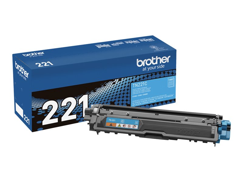 BROTHER HL-3140CW SD YLD CYAN TONER, 1.4k yield