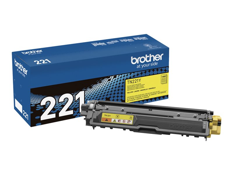 BROTHER HL-3140CW SD YLD YELLOW TONER, 1.4k yield