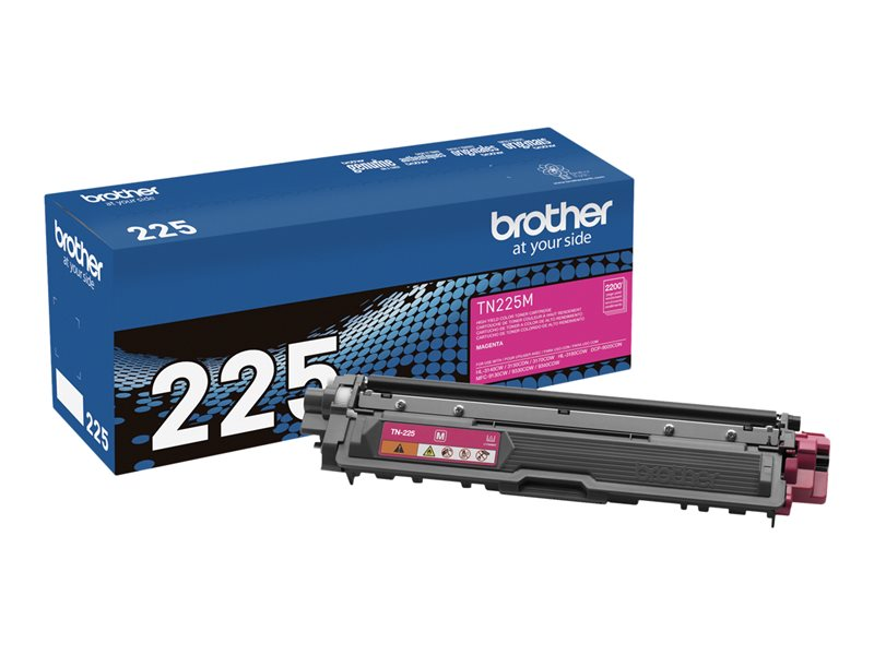 BROTHER HL-3140CW HI YLD MAGENTA TONER, 2.2k yield