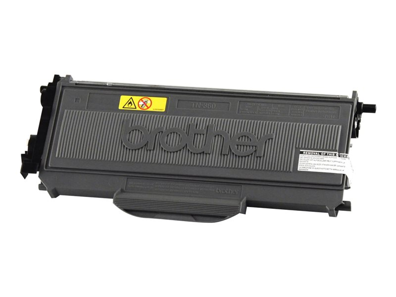 BROTHER HL-2140 HI YLD BLACK TONER, 2,600 yield