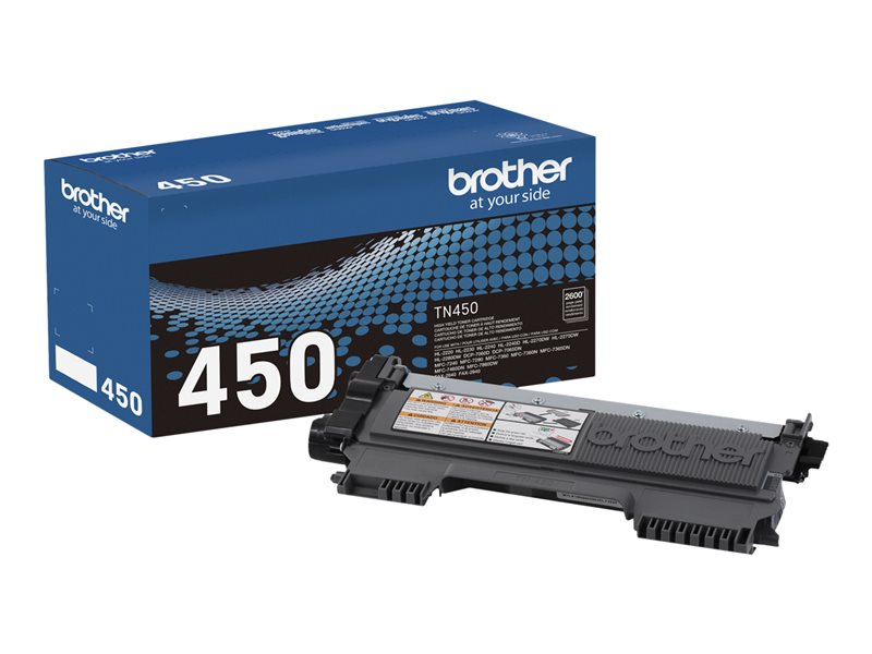 BROTHER HL-2240D HI YLD BLACK TONER, 2,600 yield