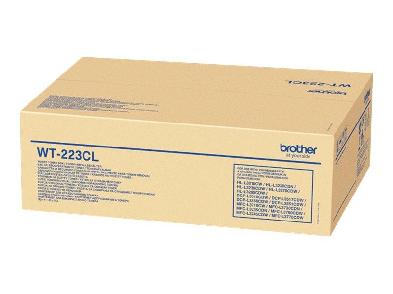 BROTHER HL-L3210CW WT223CL WASTE TONER UNIT, 50k yield