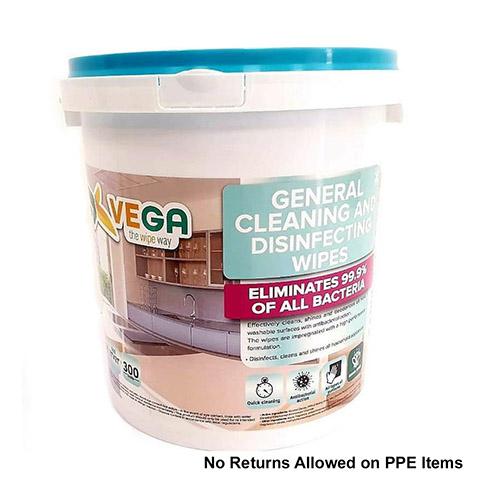 VEGA CLEANING WIPES LQ-(300CT)