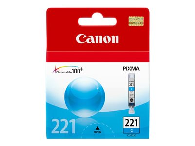 CANON PIXMA MP980 CLI221 SD CYAN INK, 203 yield