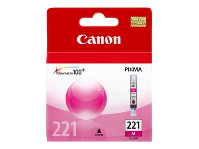 CANON PIXMA MP980 CLI221 SD MAGENTA INK, 203 yield