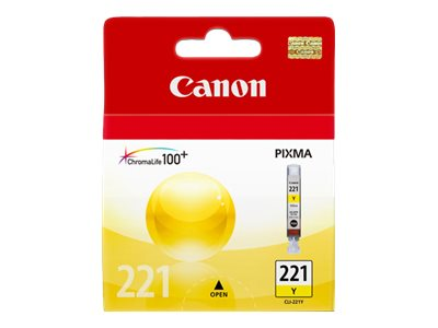 CANON PIXMA MP980 CLI221 SD YELLOW INK, 203 yield