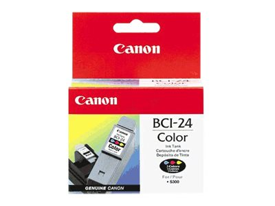 CANON I450 BCI24 SD COLOR INK, 170 yield