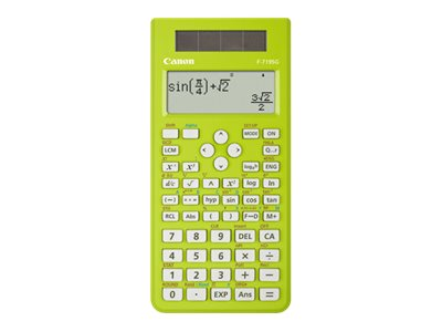 CANON F-719SG 18 DIGIT GREEN SCIENTIFIC CALC