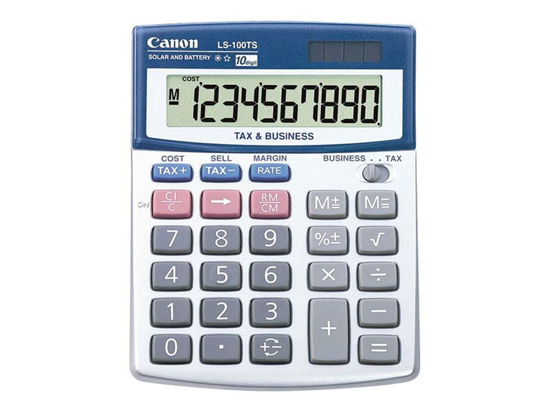CANON LS-100TS 10 DIGIT HANDHELD BUSINESS CALC