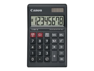 CANON LS-88HIIII  8 DIGI GREEEN BASIC CALCULATOR