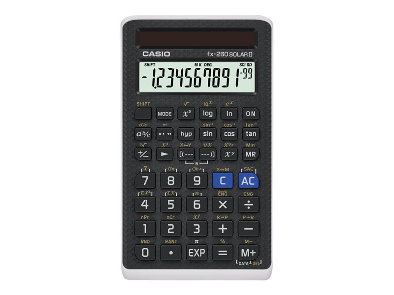 CASIO FX260 SOLAR II FRACTION SCIENTIFIC CALC