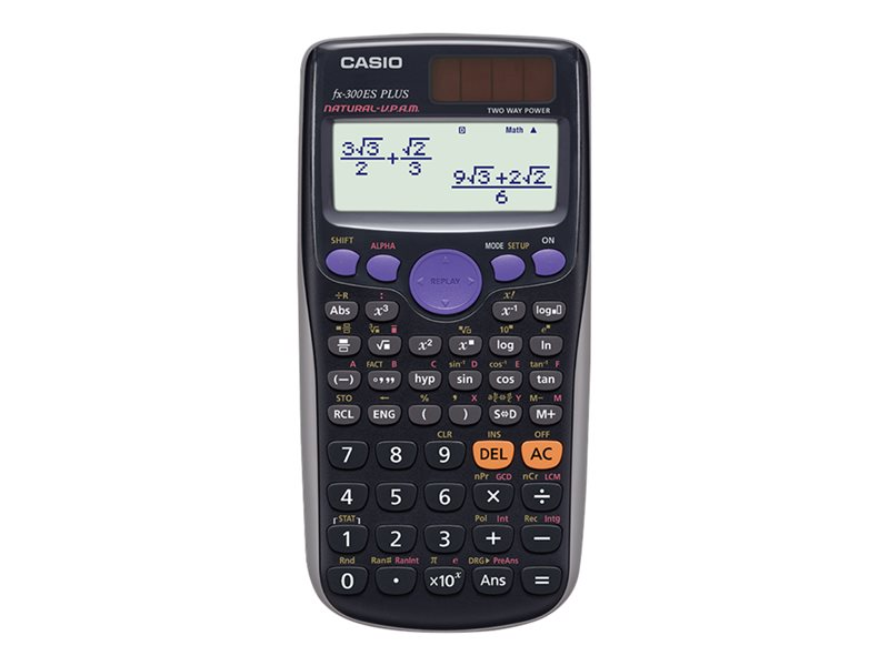 CASIO FX300ES+ 12X2 LINE 249 FUNCTION SCIENTIFIC