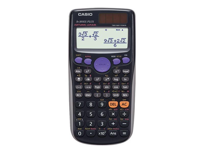 CASIO FX300ES+ 12X2 LINE 249 FUNCTION SCIENTIFIC