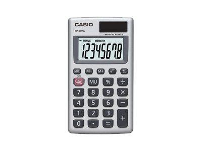 CASIO HS8VA 8 DIGIT BASIC HANDHELD CALC