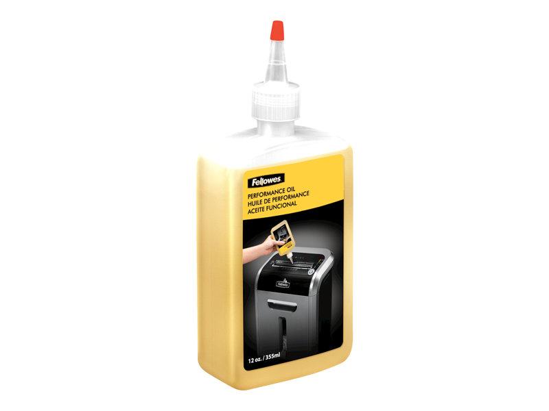FELLOWES 35250 LUBRICANT 12OZ BOTTLE SHREDDER OIL