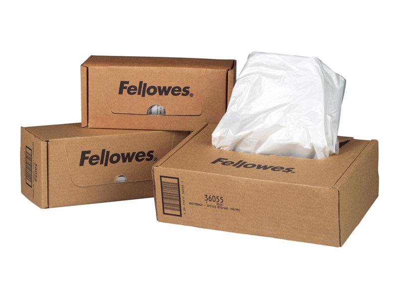 FELLOWES 36052 7 GALLON 100PK SHREDDER BAGS