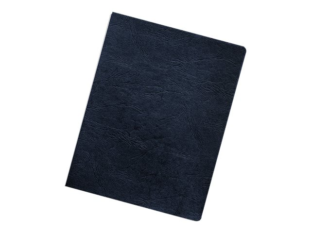 FELLOWES BINDING COVERS 200PK OVERSIZE NAVY