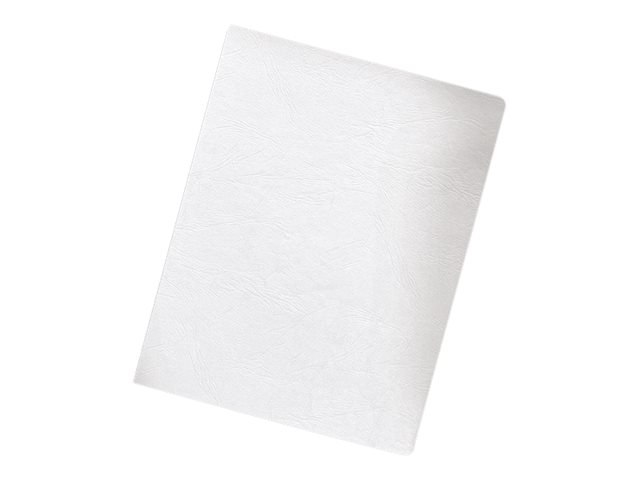FELLOWES BINDING COVERS 200PK OVERSIZE WHITE