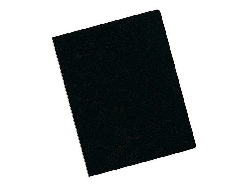 FELLOWES BINDING COVERS 200PK OVERSIZE BLACK