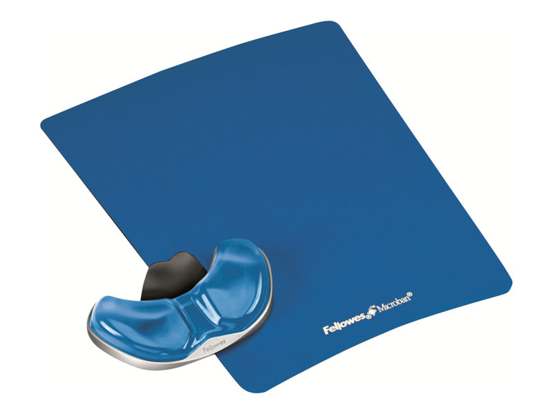 FELLOWES 9180601 BLUE GLIDING PALM SUPPORT/PAD